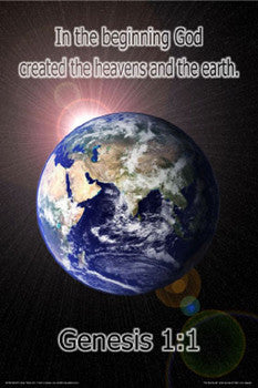 "Genesis 1:1 ""In the Beginning"" Poster - Slingshot Publishing"