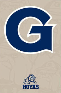 Georgetown University Hoyas Official NCAA Team Logo Poster - Trends International