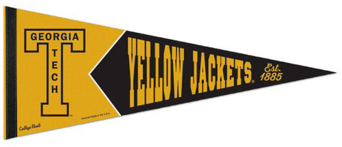 Georgia Tech Yellow Jackets NCAA College Vault 1950s-Style Premium Felt Collector's Pennant - Wincraft Inc.