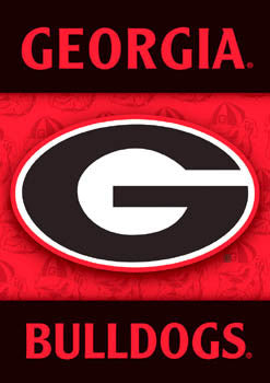 "Georgia Bulldogs ""Big G"" Banner - BSI Products"
