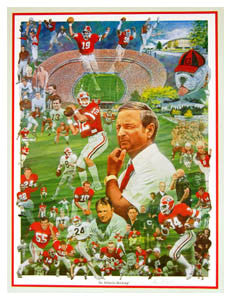 """An Athletic Heritage"" (Georgia Bulldogs) - P. Miller 1984"