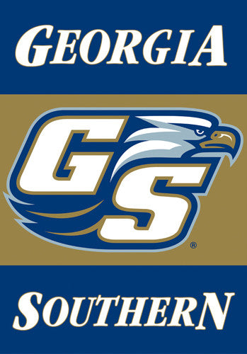 Georgia Southern Golden Eagles Official 28x40 Premium Team Banner - BSI Products