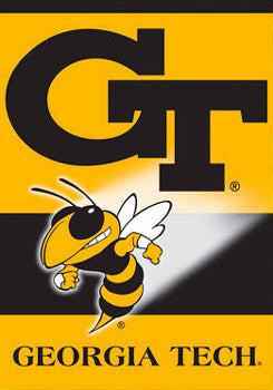 Georgia Tech Yellow Jackets Premium 28x40 Banner Flag - BSI