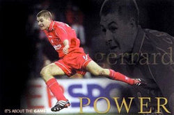 "Steven Gerrard ""Power"" - U.K. 2002"