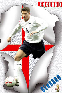 "Steven Gerrard ""Breakthrough"" - UK Posters 2006"