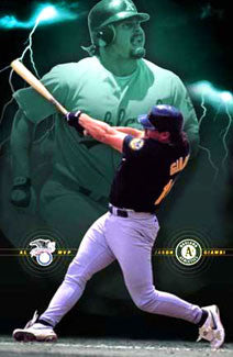"Jason Giambi ""Superpower"" - Costacos 2001"