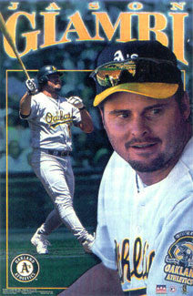 "Jason Giambi ""Oakland Star"" - Starline 2001"