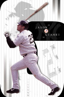 "Jason Giambi ""Pinstripes"" - Costacos 2002"