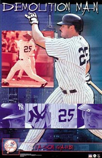 "Jason Giambi ""Demolition Man"" - Starline 2002"