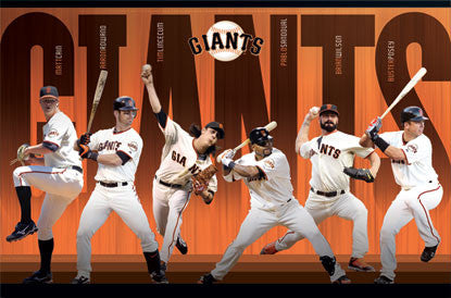 "San Francisco Giants ""Super Six"" (2011) - Costacos Sports"