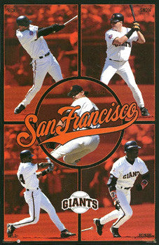 "San Francisco Giants ""Superstars '97"" - Costacos Brothers"