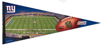 New York GIANTS STADIUM GAMEDAY Extra-Large Premium Pennant