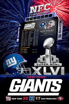 "New York Giants ""Super Season XLVI"" - Action Images 2012"