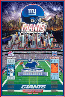 "New York Giants ""History of Victory"" (Super Bowl XXI, XXV) - Action Images"