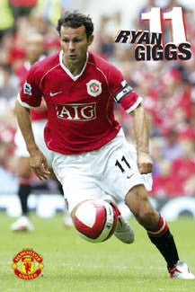 "Ryan Giggs ""Super Action"" - GB Posters 2006"