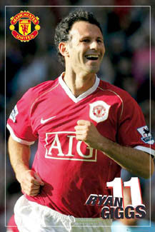 "Ryan Giggs ""Superstar"" - GB Posters 2007"