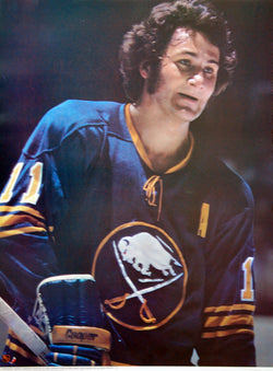 Gilbert Perreault Buffalo Sabres Vintage Classic Poster - Sports Posters Inc. 1973