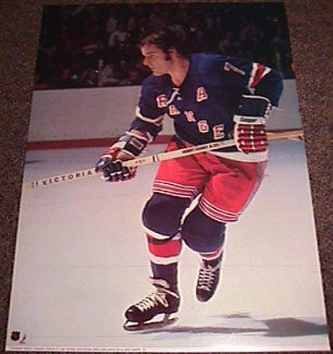 Rod Gilbert New York Rangers NHL Action Poster - Sports Posters Inc. 1973