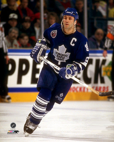 "Doug Gilmour ""Captain Blue"" Toronto Maple Leafs c.1993 Premium Poster Print - Photofile Inc."