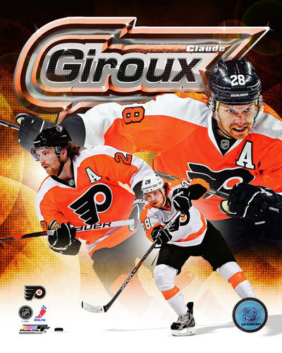 "Claude Giroux ""Triple-Action"" Philadelphia Flyers Premium Poster Print - Photofile 16x20"