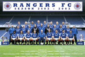 Glasgow Rangers Official Team Portrait 2002/2003 Poster - GB Posters