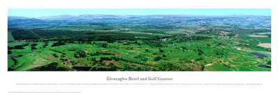 Gleneagles Golf Courses Panorama - Blakeway Worldwide 2002