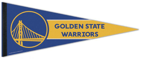Golden State Warriors Official NBA Basketball Premium Felt Collector's Pennant - Wincraft Inc.