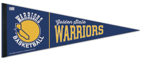 Golden State Warriors Retro 1972-75 Style NBA Premium Felt Pennant - Wincraft Inc.