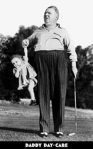 "Classic Golf Humor ""Daddy Day Care"" Poster (W.C. Fields c.1933) - Image Conscious"