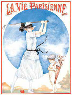 """La Vie Parisienne"" (Golf) - New York Graphic Society"