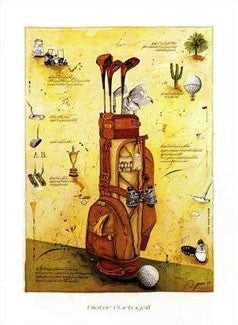 """Golf Playing Stories"" - Verkerke 1997"