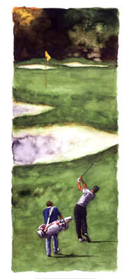 """Sweet Swing"" (Glen Green) - Canadian Art Prints 2005"