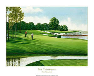 "Oyster Bay Golf ""The Thirteenth"" Premium Poster Print - Posters International"