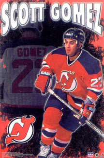 "Scott Gomez ""Action"" New Jersey Devils Poster - Starline 2000"