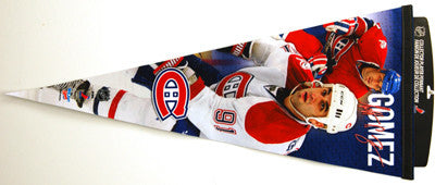 "Scott Gomez ""Big-Time"" EXTRA-LARGE Premium Felt Pennant"