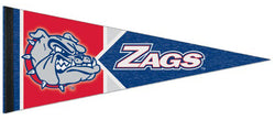 Gonzaga University Bulldogs Official NCAA Team Logo Premium Felt Collector's Pennant - Wincraft Inc.