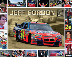 "Jeff Gordon ""Since 1993"" Dupont NASCAR Commemorative Poster - Time Factory"