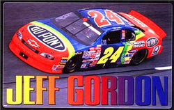 "Jeff Gordon ""Rainbow Action"" NASCAR Racing Poster - Costacos 1998"