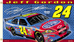 "Jeff Gordon ""Gordon Nation"" 3'x5' Flag (2008) - BSI Products"