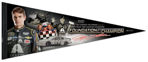"Jeff Gordon ""Foundation of a Champion"" Career Commemorative Premium Pennant - Wincraft 2015"