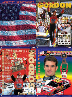 "Jeff Gordon ""Four-Spot Combo"" - Brian Spurlock 2002"