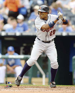 "Curtis Granderson ""Tiger"" (2009) - Photofile 16x20"