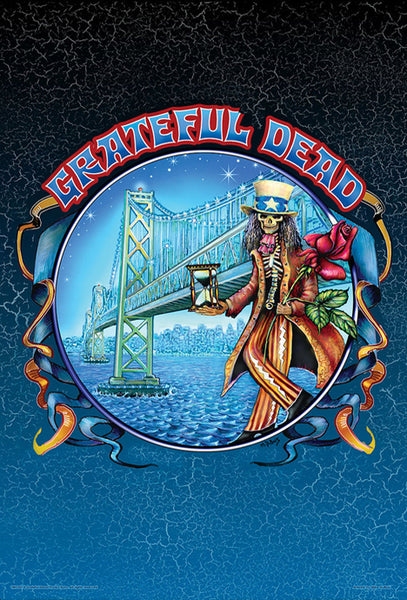 "Grateful Dead ""Bridge"" by Mike DuBois (2009) Rock Music 24x36 Art Poster"