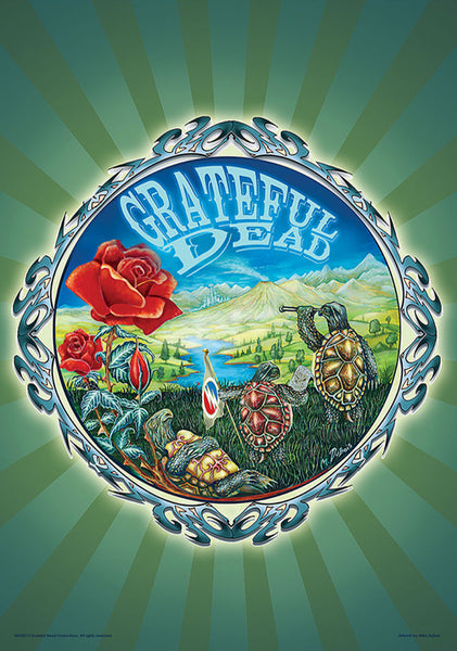 "Grateful Dead ""Terrapins"" by Mike DuBois (2004) Rock Music 24x36 Art Poster"