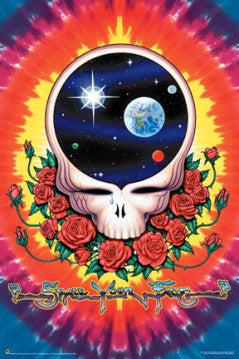 "Grateful Dead ""Space Your Face"" Poster - Scorpio Posters"