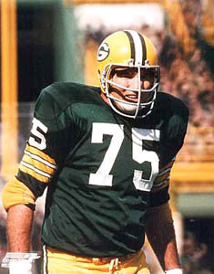 "Forrest Gregg ""NFL Classic"" (c.1965) Green Bay Packers Premium Poster Print - Photofile Inc."