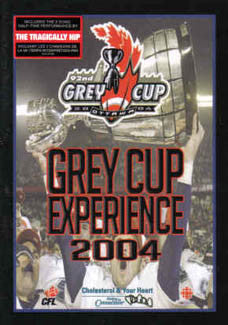 "DVD: ""Grey Cup Experience 2004"" (2-Disc Set) - 2450 Visual"