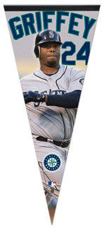 "Ken Griffey Jr. ""#24"" Seattle Mariners EXTRA-LARGE Premium Felt Pennant"