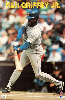"Ken Griffey Jr. ""Intensity"" Seattle Mariners Poster - Making Waves 1990"