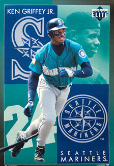 "Ken Griffey Jr. ""Elite"" Seattle Mariners Poster - Costacos 1994"